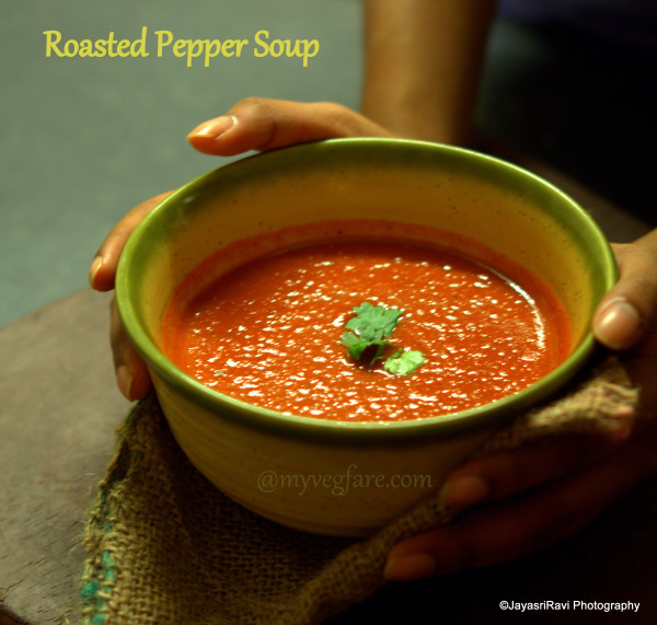 Roasted Pepper soup