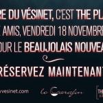 « Beaujolais nouveau » au Théâtre du Vésinet le 18 novembre : save the date !