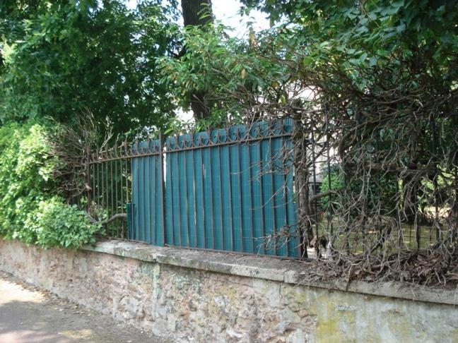 Clôtures, barrières, et diverses enceintes de propriétés de la ville du Vésinet ...