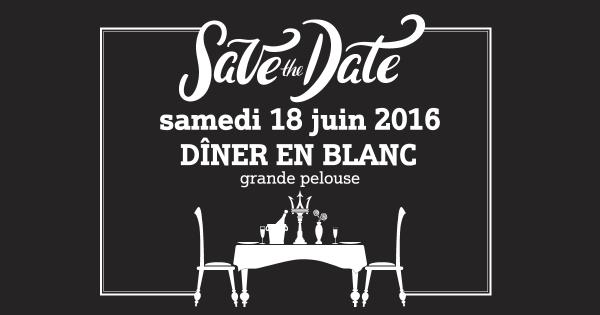 Le 3e Dîner en Blanc du Vésinet, c'est le samedi 18 juin 2016 !