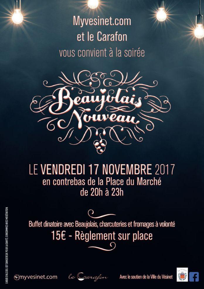 Beaujolais nouveau » le vendredi 17 novembre 2017