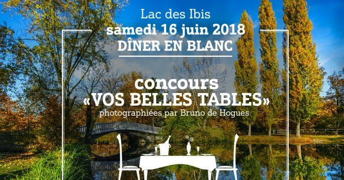5e Dîner en Blanc du Vésinet samedi 16 juin : carte blanche au photographe Bruno de Hogues