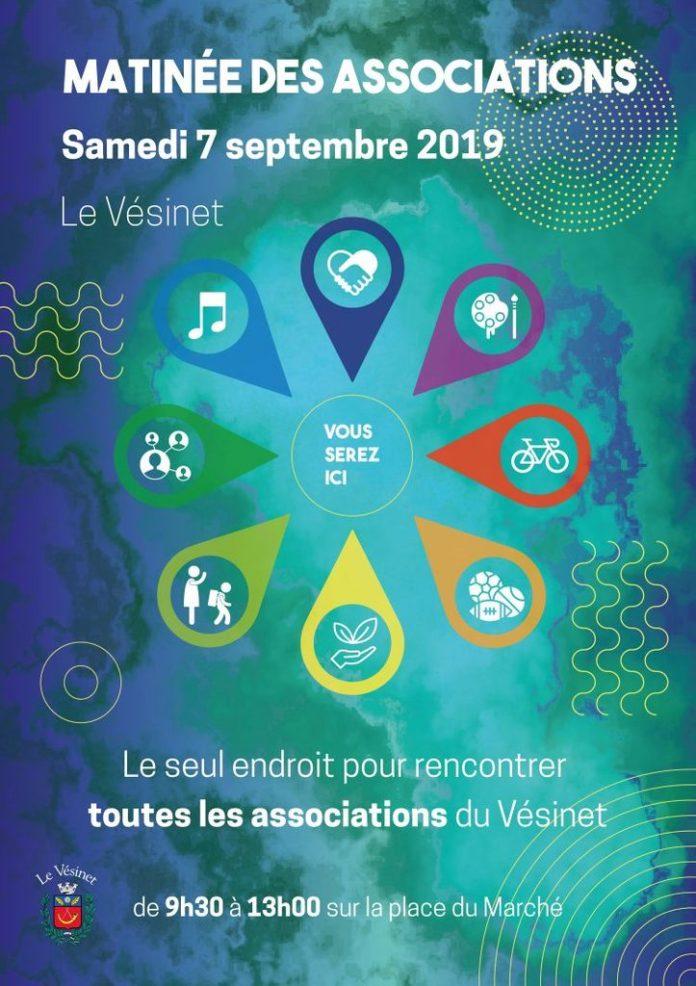 Samedi 7 septembre, venez découvrir les activités proposées par les très nombreuses associations du Vésinet, et dialoguer avec leurs responsables.