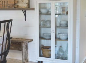 My Farmhouse Cabinet