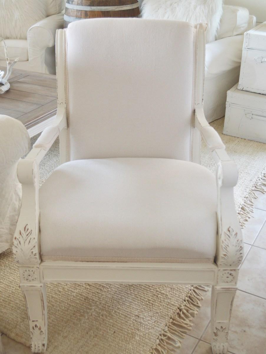 Brilliant My Diy Drop Cloth Upholstered Chair Evergreenethics Interior Chair Design Evergreenethicsorg