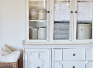 My Chalk Painted Hutch