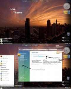 Windows Vista Live Vista Theme