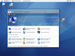 Windows Vista Mac for Vista Beta 1 Theme
