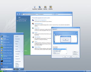 Windows Vista Royal Inspirat SE Theme