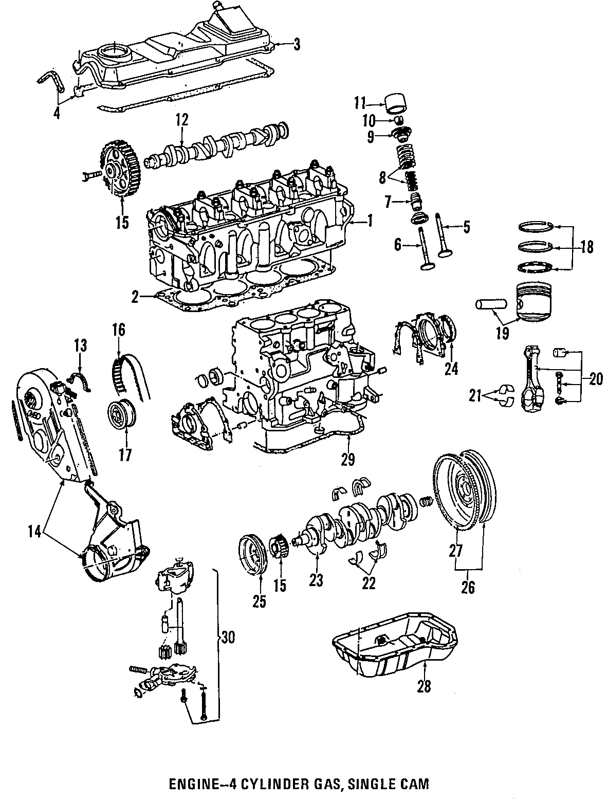 Volkswagen Jetta Engine Valve Cover 2 0 Liter Beetle