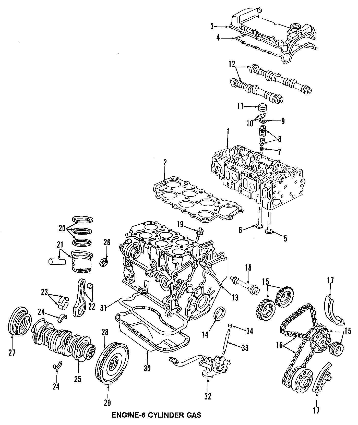 Volkswagen Golf Engine Crankshaft Pulley Liter Cylinder