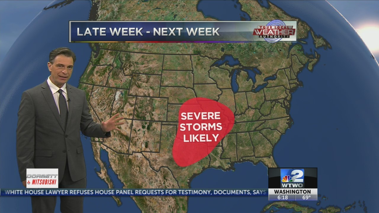 Warmest weather of the year coming!