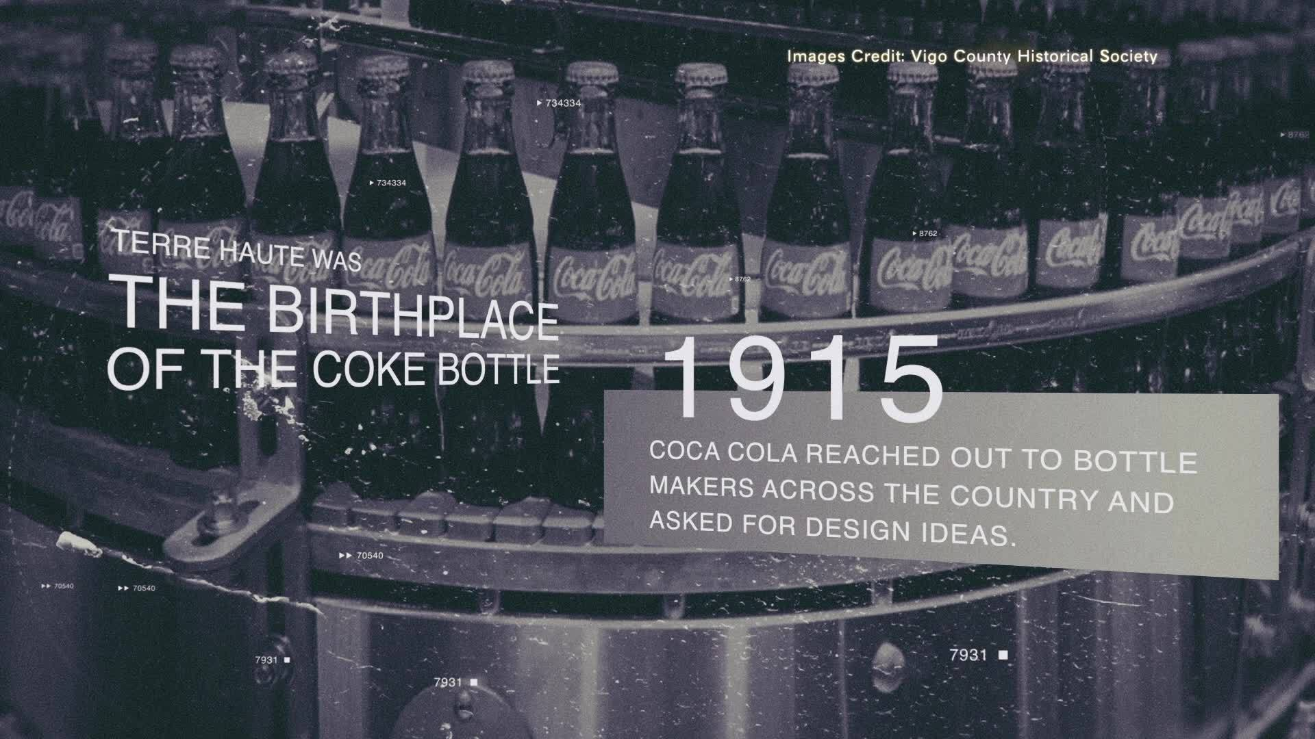 Birthplace of The Coke Bottle on Wabash Valley History
