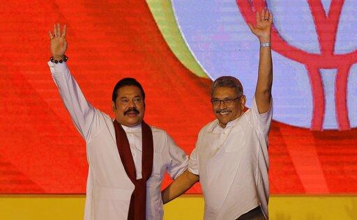 Former Sri Lankan strongman's brother to run for president