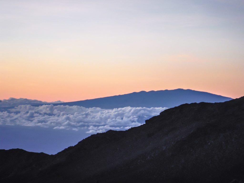 Haleakala National Park   Haleakala Crater   Maui, Hawaii   Sunrise experience and mountain biking   Nene state goose   Wildlife, lavender, eucalyptus, scenery   lunar landscape
