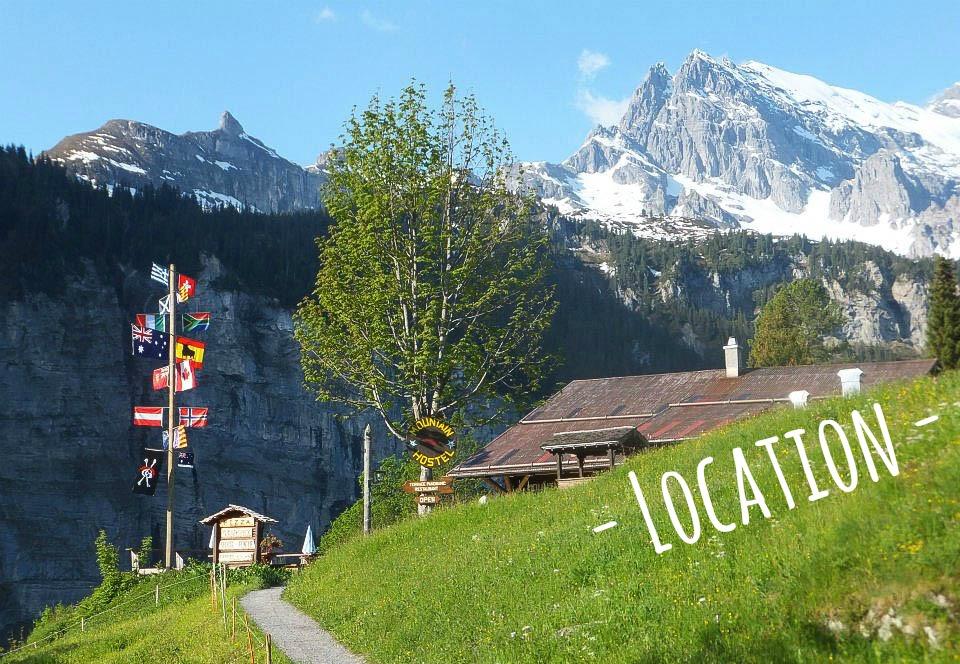 mountain hostel gimmelwald location