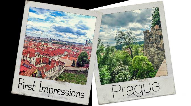 First Impressions of Prague, Czech Republic