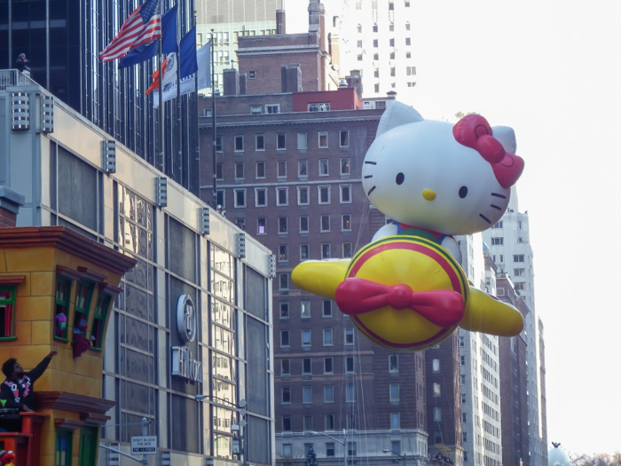 Do This, Not That // Macy's Thanksgiving Day Parade tips | Hello Kitty at the Macy's Thanksgiving Day Parade in New York City