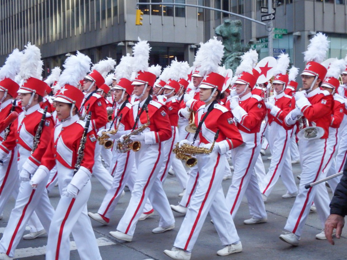 Do This, Not That // Macy's Thanksgiving Day Parade   Great American Marching Band at the Macy's Thanksgiving Day Parade in New York City