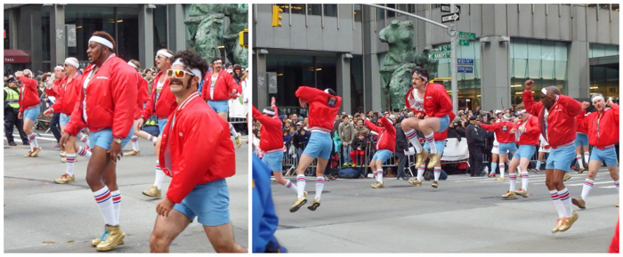 Do This, Not That // Macy's Thanksgiving Day Parade tips | 610 Stompers at the Macy's Thanksgiving Day Parade in New York City