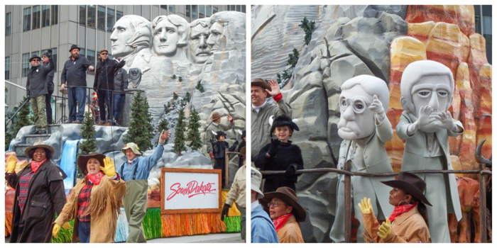 Do This, Not That // Macy's Thanksgiving Day Parade tips | South Dakota and Mount Rushmore at the Macy's Thanksgiving Day Parade in New York City