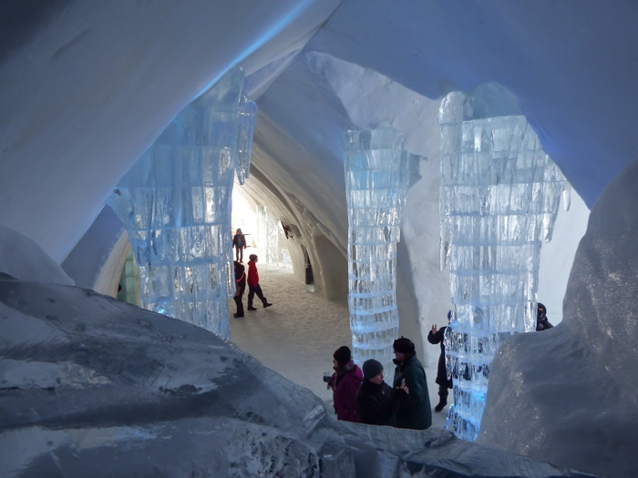 Hôtel de Glace // Straight Chillin' at Québec City's Ice Hotel | Québec City's ice hotel | Grand Hall