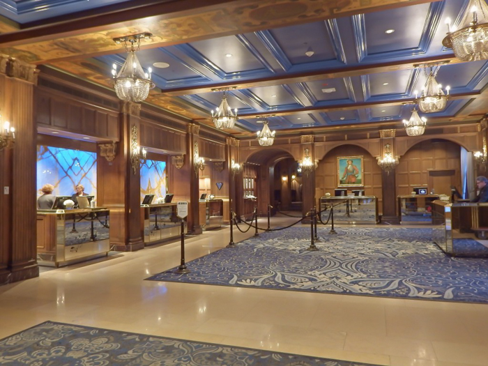Château Frontenac & the Weekend of Spoils | The lobby at Québec City's Château Frontenac