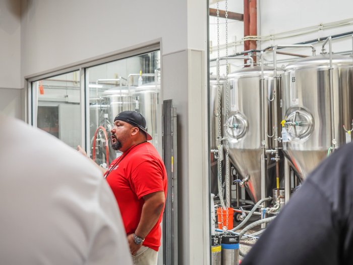 How to Tour Beer // Cigar City Brewery | Tampa, Florida | Taking a tour | Our tour guide Victor