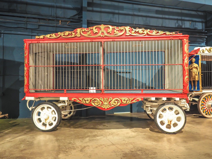How creepy is the Ringling Brothers Circus Museum   Sarasota, Florida   Barnum and Bailey Circus   Greatest Show on Earth   The Greatest Showman   Circus history   Clowns   animal crackers train car