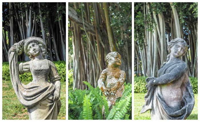 The Ringling // Getting My Italy Fix in Florida   Ringling   Ringling art museum and sculpture garden   Sarasota, Florida   The Ringling art museum   Rose garden   Statues