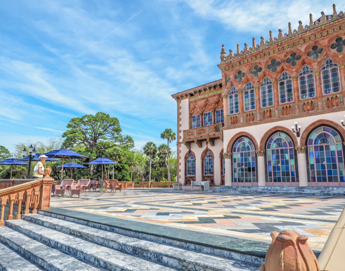 The Ringling // Getting My Italy Fix in Florida   Ringling   Ringling art museum and sculpture garden   Sarasota, Florida   The Ringling art museum   Rose garden   Ca'D'Zan