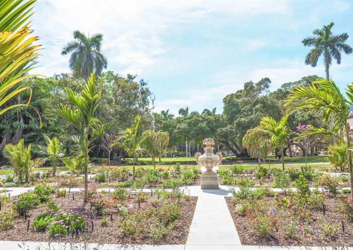 The Ringling // Getting My Italy Fix in Florida   Ringling   Ringling art museum and sculpture garden   Sarasota, Florida   The Ringling art museum   Rose garden   The secret garden