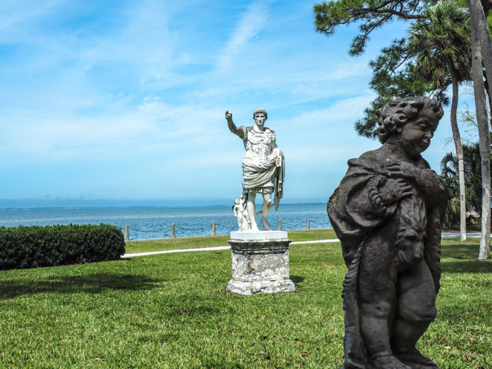 The Ringling // Getting My Italy Fix in Florida   Ringling   Ringling art museum and sculpture garden   Sarasota, Florida   The Ringling art museum   Statues