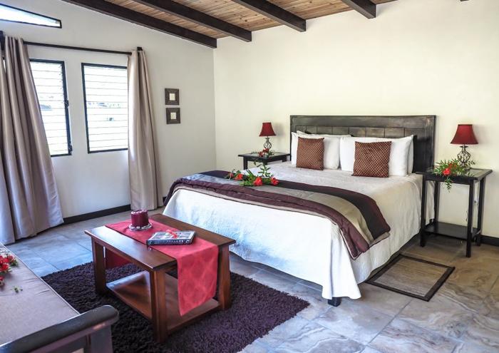 Black Rock Lodge   Belize   Riverfront deluxe king cabin at Black Rock Lodge in San Ignacio, Belize