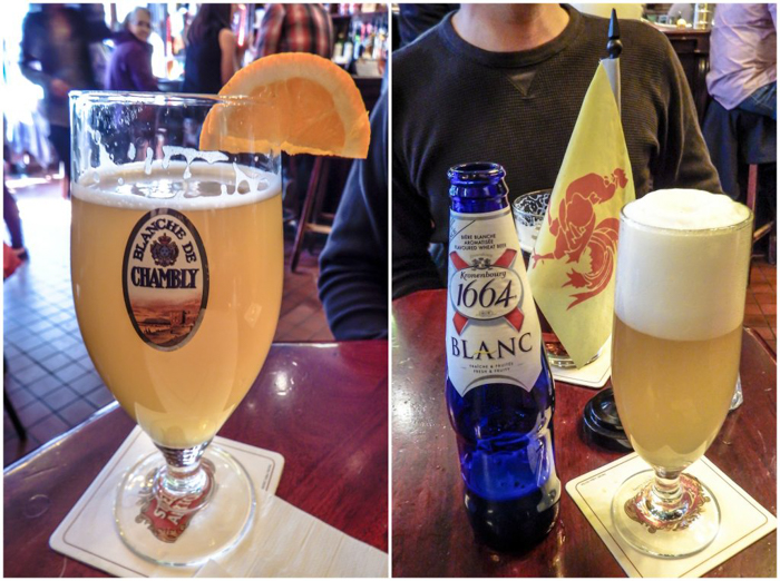 Beer and live music at Pub Saint Alexandre | The Best Spots to Eat + Drink in Québec City | Canada