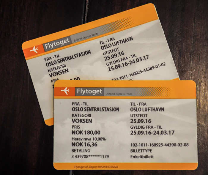 How to get from the airport to Oslo city center | the Flytoget