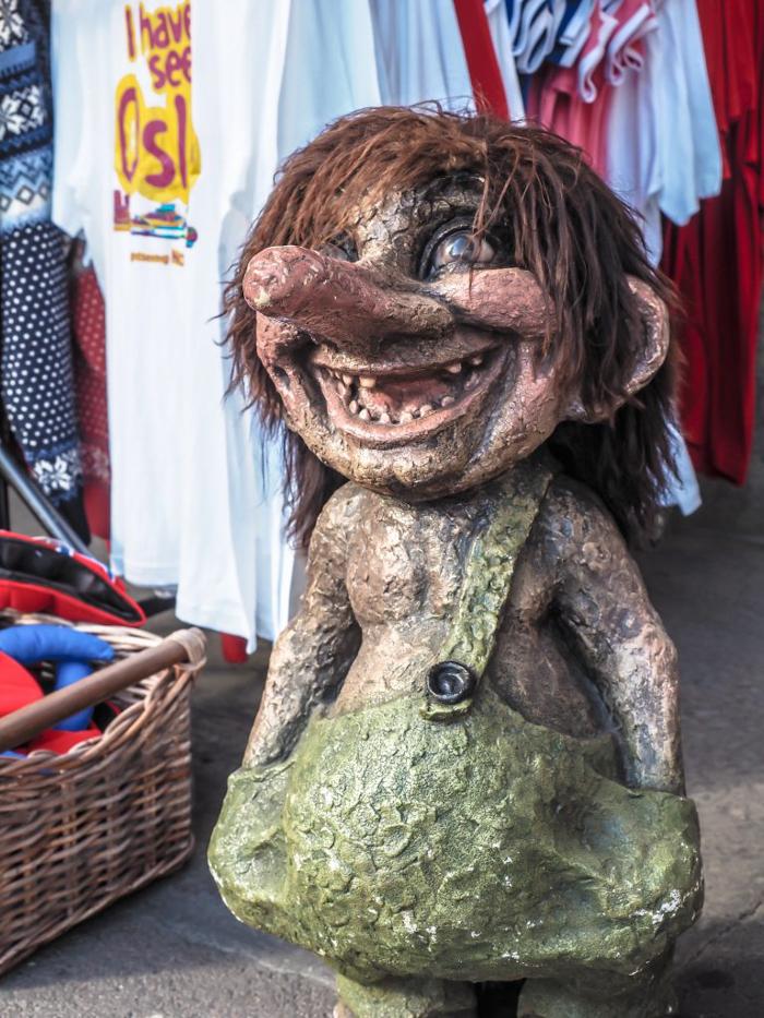 24 hours in Oslo, Norway -- troll