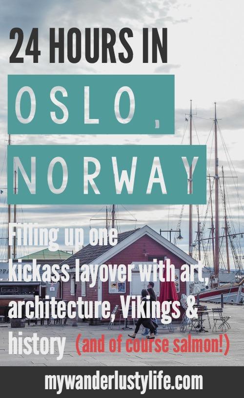 24 Hours in Oslo, Norway