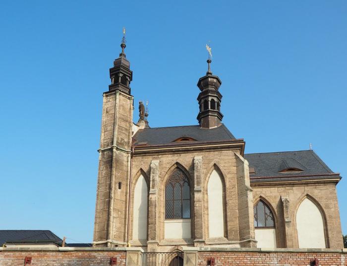 The Sedlec Ossuary // a photo essay on the bone church of Kutná Hora, Czech Republic -- the sidewalk outside