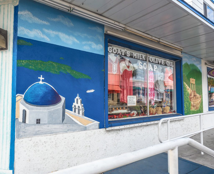 Greeking out at the Tarpon Springs Sponge Docks | What to do in the Tampa Bay area | Greek community | Greek food | Sponge capital of the world | Shops