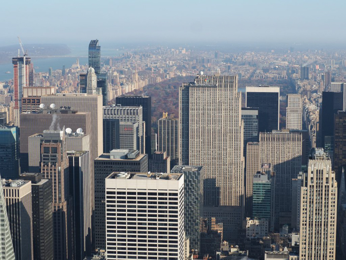 Is the observatory at the Empire State Building the best observation deck in New York City? (Rockefeller Center and Central Park)