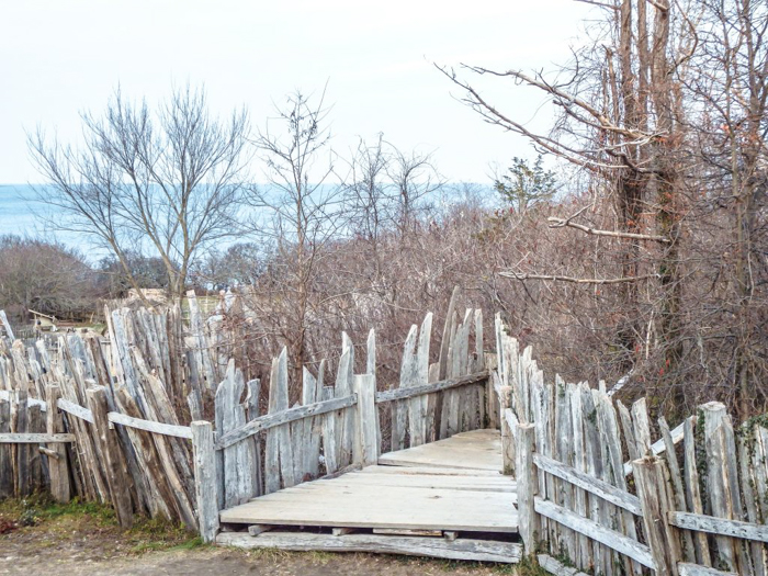 Plimoth Plantation after Thanksgiving dinner in Plymouth, Massachusetts -- just outside Boston