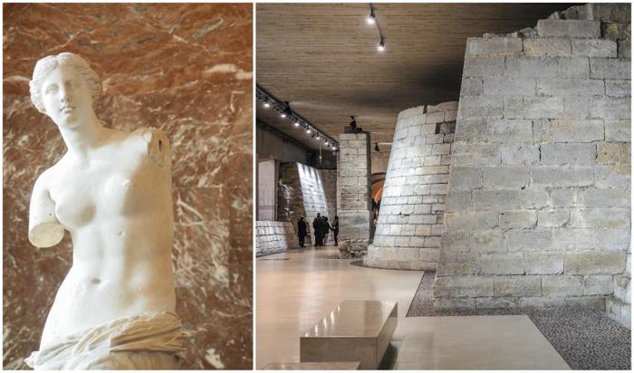 3 days in Paris, France | Paris Museum Pass | Paris Passlib' | Paris Visite | Louvre | Venus de Milo | Fortress remains underground
