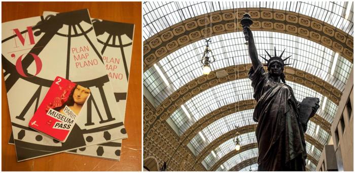 3 days in Paris, France | Paris Museum Pass | Paris Passlib' | Paris Visite | Musée d'Orsay | map | Statue of Liberty