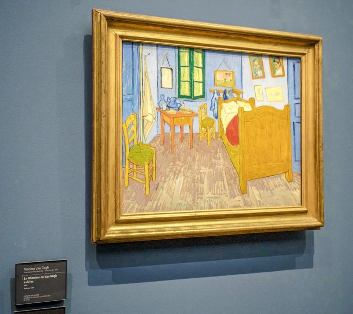 3 days in Paris, France | Paris Museum Pass | Paris Passlib' | Paris Visite | Musée d'Orsay | van Gogh bedroom painting