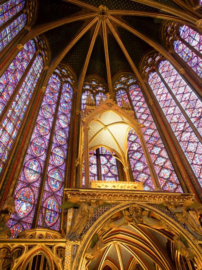 3 days in Paris, France | Paris Museum Pass | Paris Passlib' | Paris Visite | Sainte-Chapelle | stained glass windows