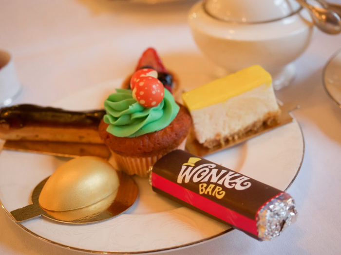 Charlie and the Chesterfield | Willy Wonka and the Chocolate Factory | Afternoon Tea | London, United Kingdom | Chesterfield Mayfair Hotel | Red Carnation Hotel Collection | desserts