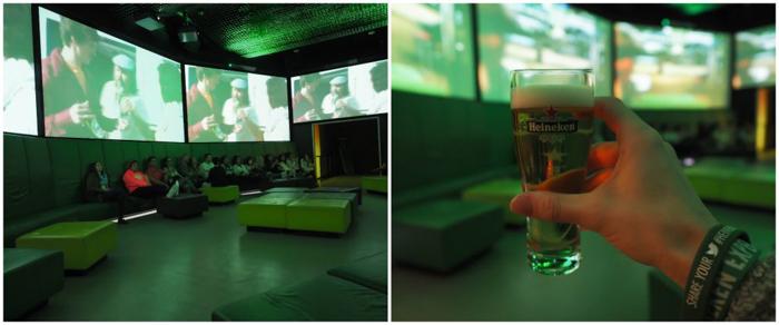 free sample | The Heineken Experience in Amsterdam | the Netherlands | Heineken Brewery | brewery tour | VIP tasting | beer | Amstel | Brand | Affligem | Heineken 41 | beer tasting