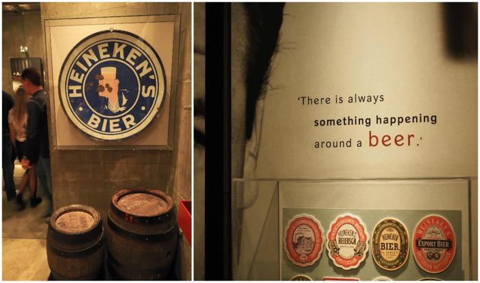 Gerard Adriaan Heineken & quote | The Heineken Experience in Amsterdam | the Netherlands | Heineken Brewery | brewery tour | VIP tasting | beer | Amstel | Brand | Affligem | Heineken 41 | beer tasting