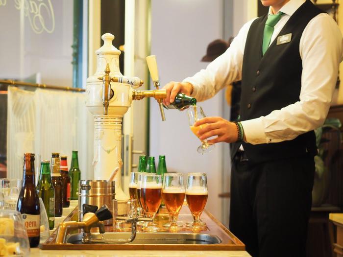 The Heineken Experience in Amsterdam | the Netherlands | Heineken Brewery | brewery tour | VIP tasting | beer | Amstel | Brand | Affligem | Heineken 41 | beer tasting